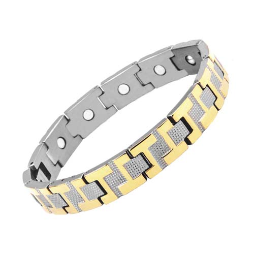 Aarogyam Bio-Magnetic Health Reviews Bracelet Jewellery double tone Plating