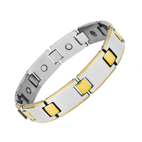 Aarogyam Magnetic Therapy Healthy Bracelet Jewellery Unisex for Best Results