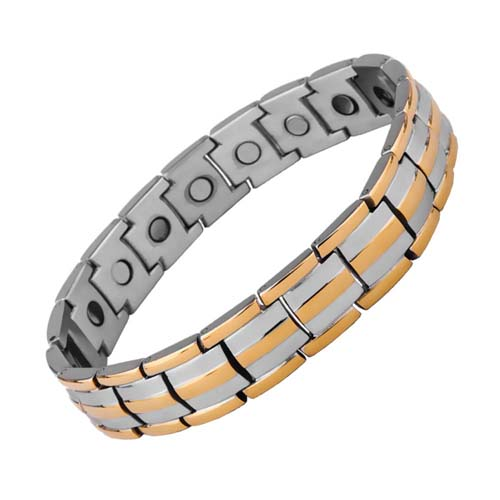 Aarogyam Magnetic Health Bracelet With Health Boosting Magnets