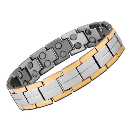 Aarogyam Energy Jewellery Bio-Magnetic Metal Bracelet For Health for Men Man Gents Him