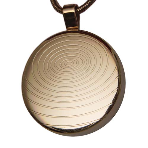 Aarogyam AM Energy Quantum Science Pendant - Rose Gold Plated