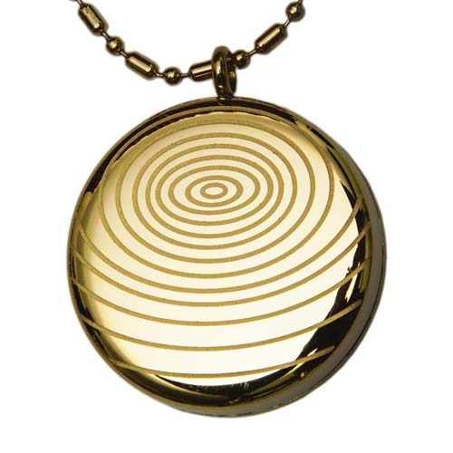 Aarogyam AM Energy Quantum Science Pendant - Gold Plated
