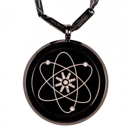 Aarogyam Energy MNT Black Gun Metal IPG MST Scalar Quantum Science Pendant