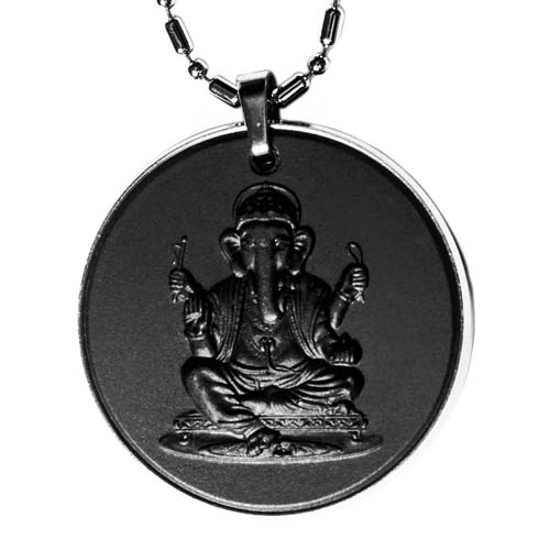 Aarogyam God Quantum Scalar Energy Pendant (Ganeshji and Sai Baba)