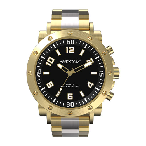 Aarogyam bio-magnetic bracelet Watch for man