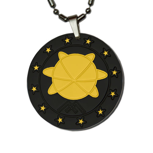 Aarogyam Golden Black MST Quantum Science Lava Pendant