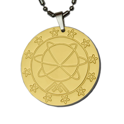 Aarogyam Full Gold MST Quantum Science Pendant for Health and Fashion
