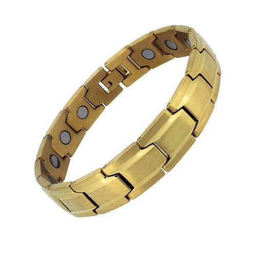 Aarogyam Gold Healing Magnetic Bracelet